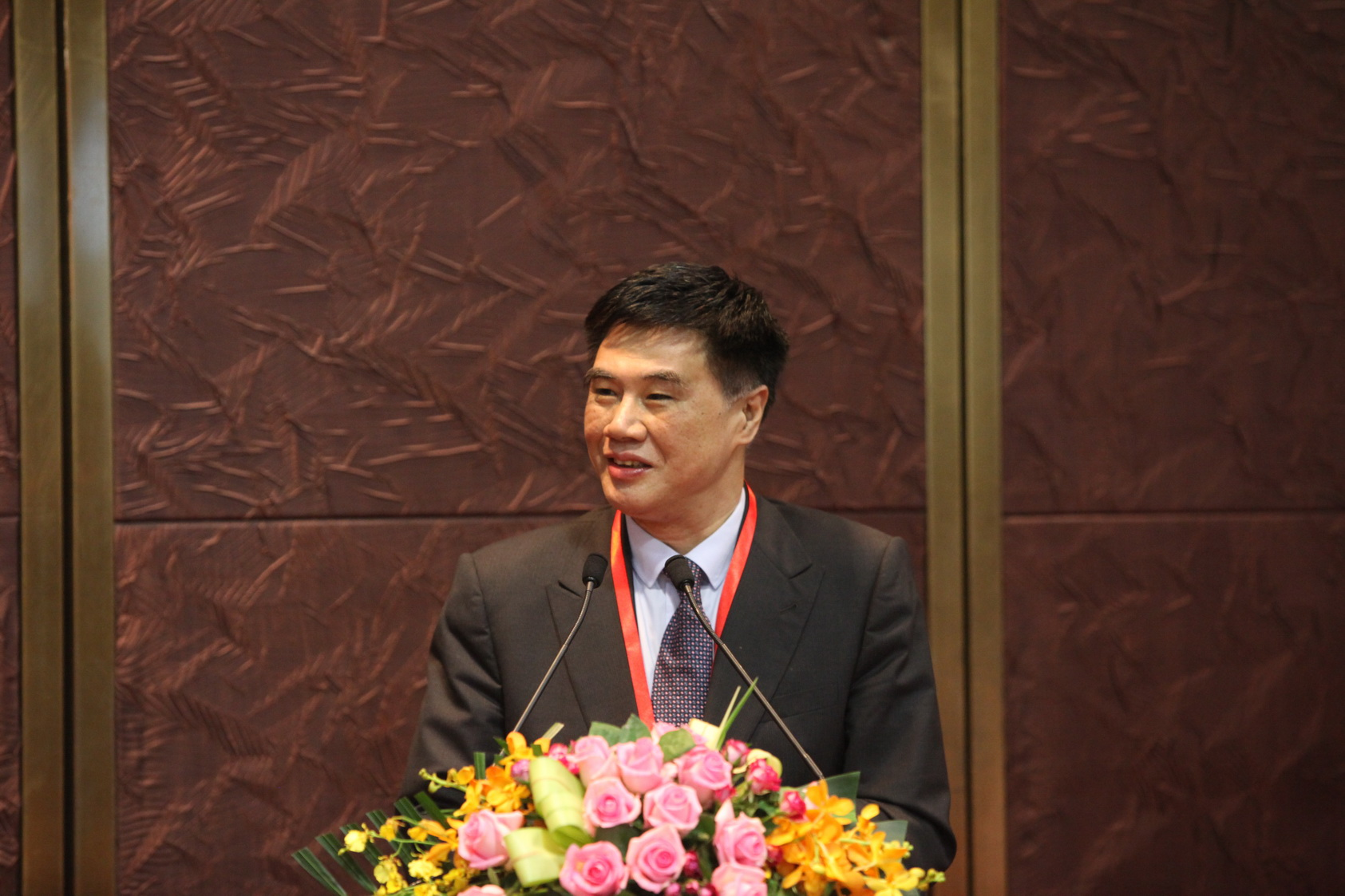 Zhang Xiaoqiang, Executive Vice Chairman and CEO of CCIEE